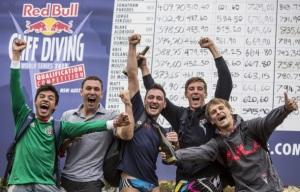 From left to right Jonathan Paredes, Michal Navratil,Blake Aldridge, Matt Cowen and Anatoliy Shabotenko.