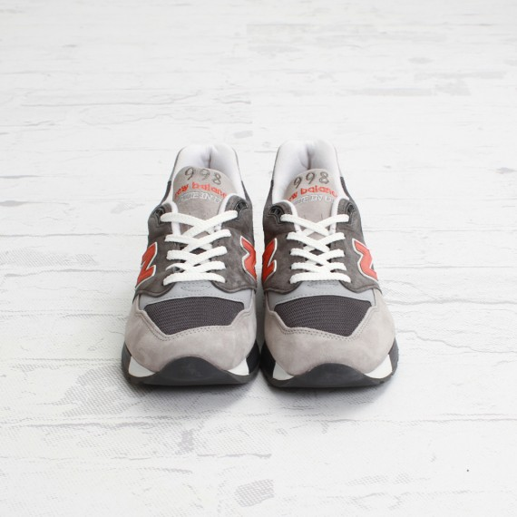 top fashion excellent quality really cheap NEW BALANCE 998 –DARK GREY – ORANGE - Trapped Magazine