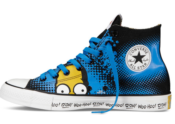 Simpsons x Converse CT All Star