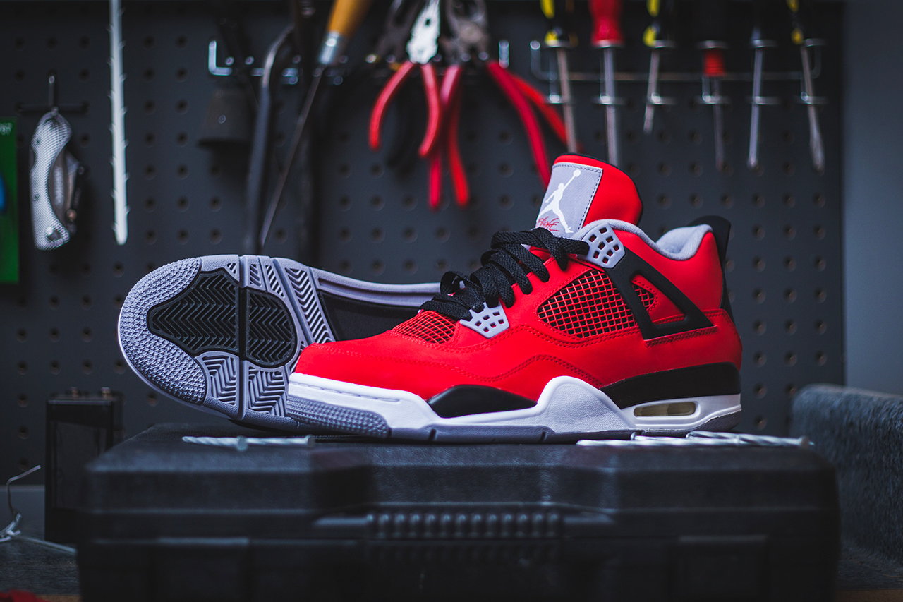 "big sale ebef4 9ee0c Air Jordan 4 Retro – ""Toro Bravo"" (Release Date) - Trapped ..."