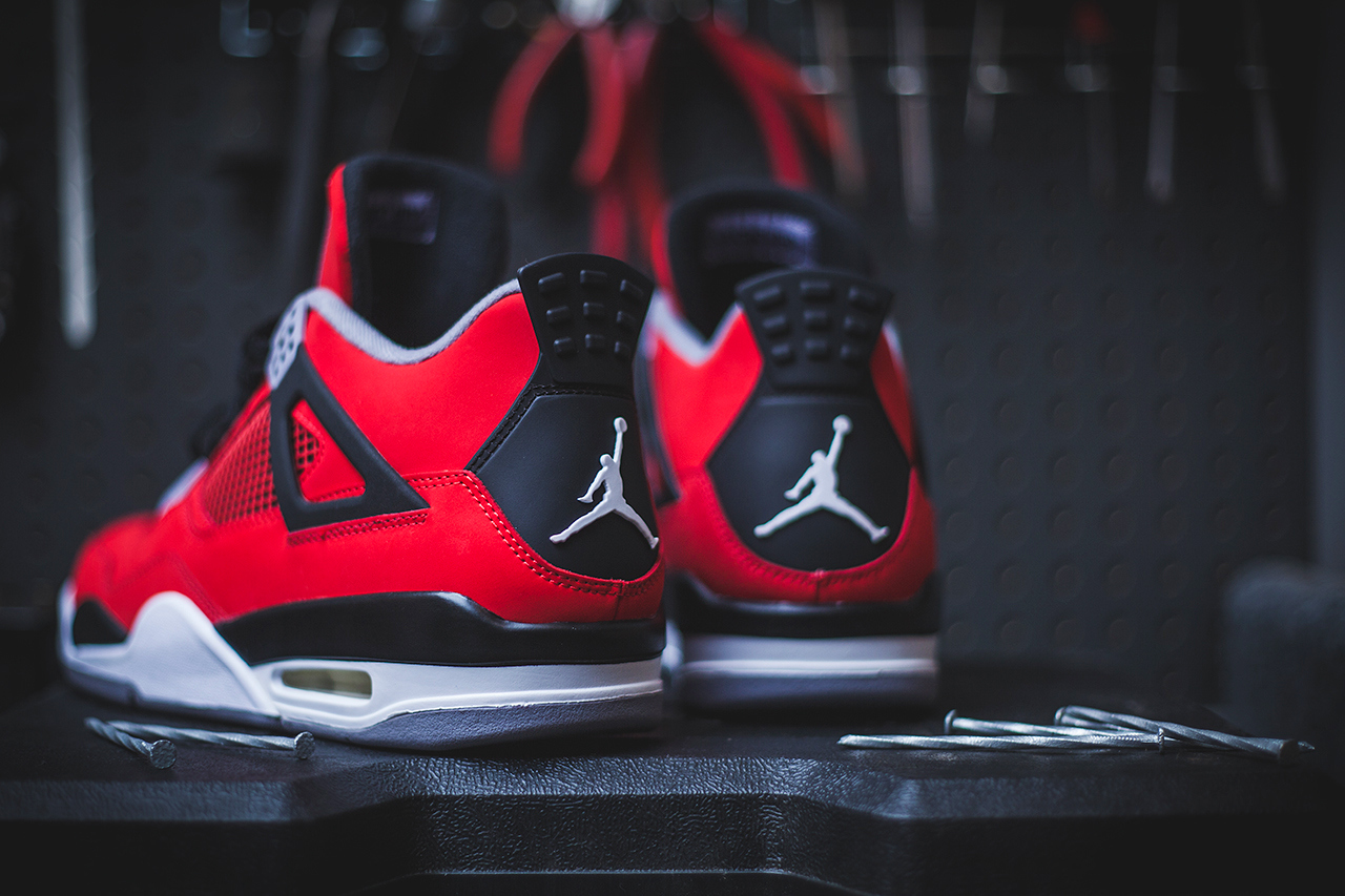 "differently c29c0 4e415 Air Jordan 4 Retro – ""Toro Bravo"" (Release Date) - Trapped Magazine"