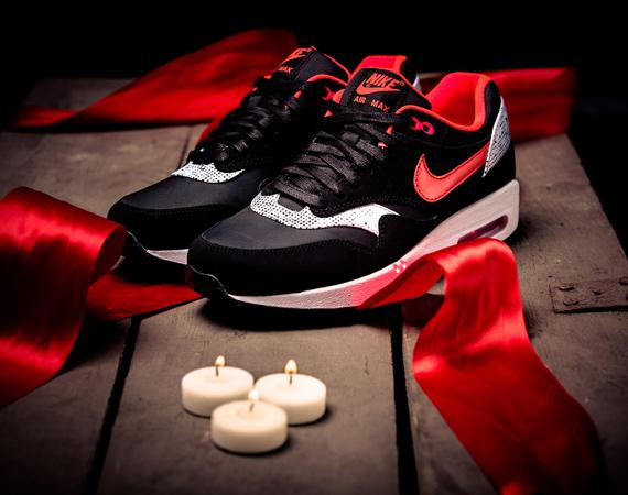 Nike Wmns Air Max 1 Saint Valentine S Day Trapped Magazine