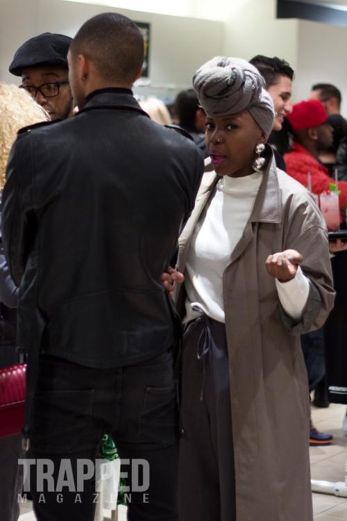 lady talking